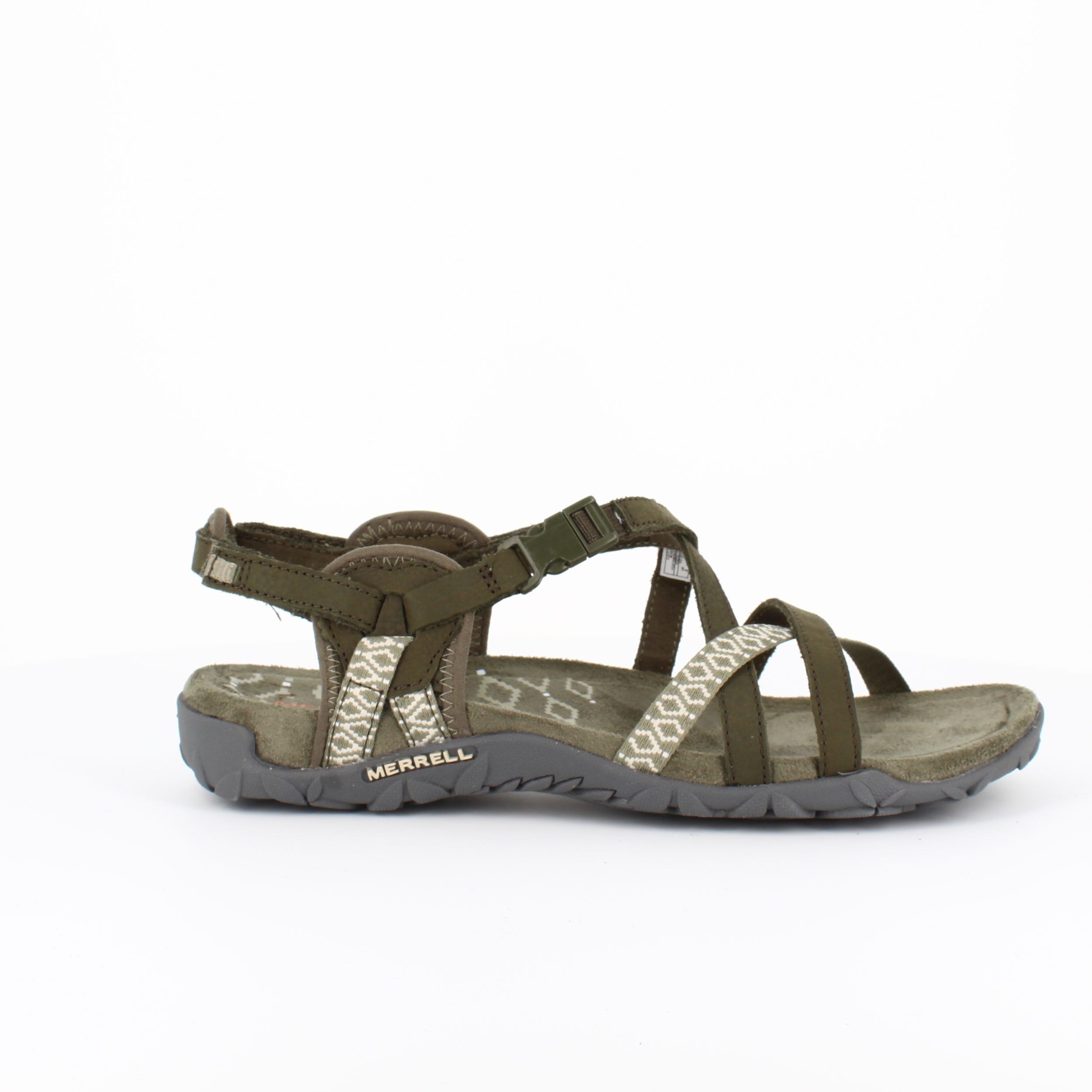 Image of   Olivenfarvet sandal, Terran Lattice sandal fra Merrell - 40