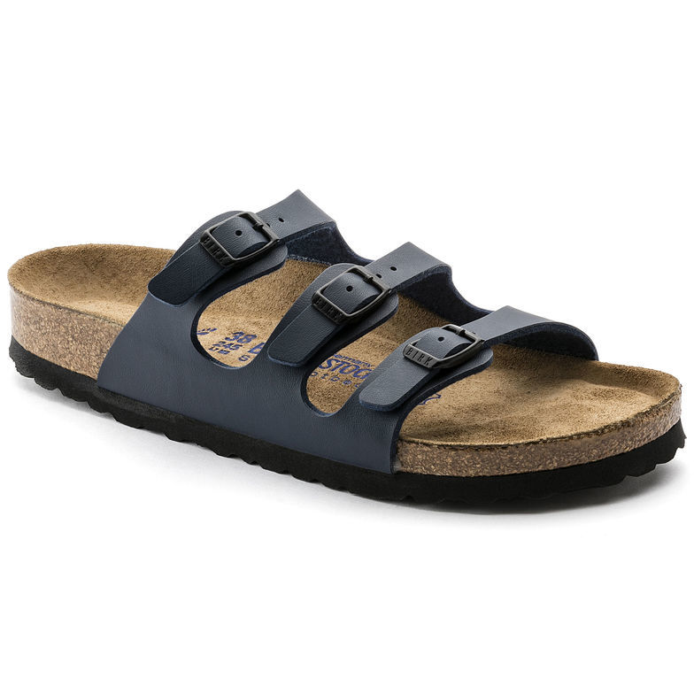 Image of   Mørkeblå Florida fra Birkenstock med smalle remme og narrow fit - 36