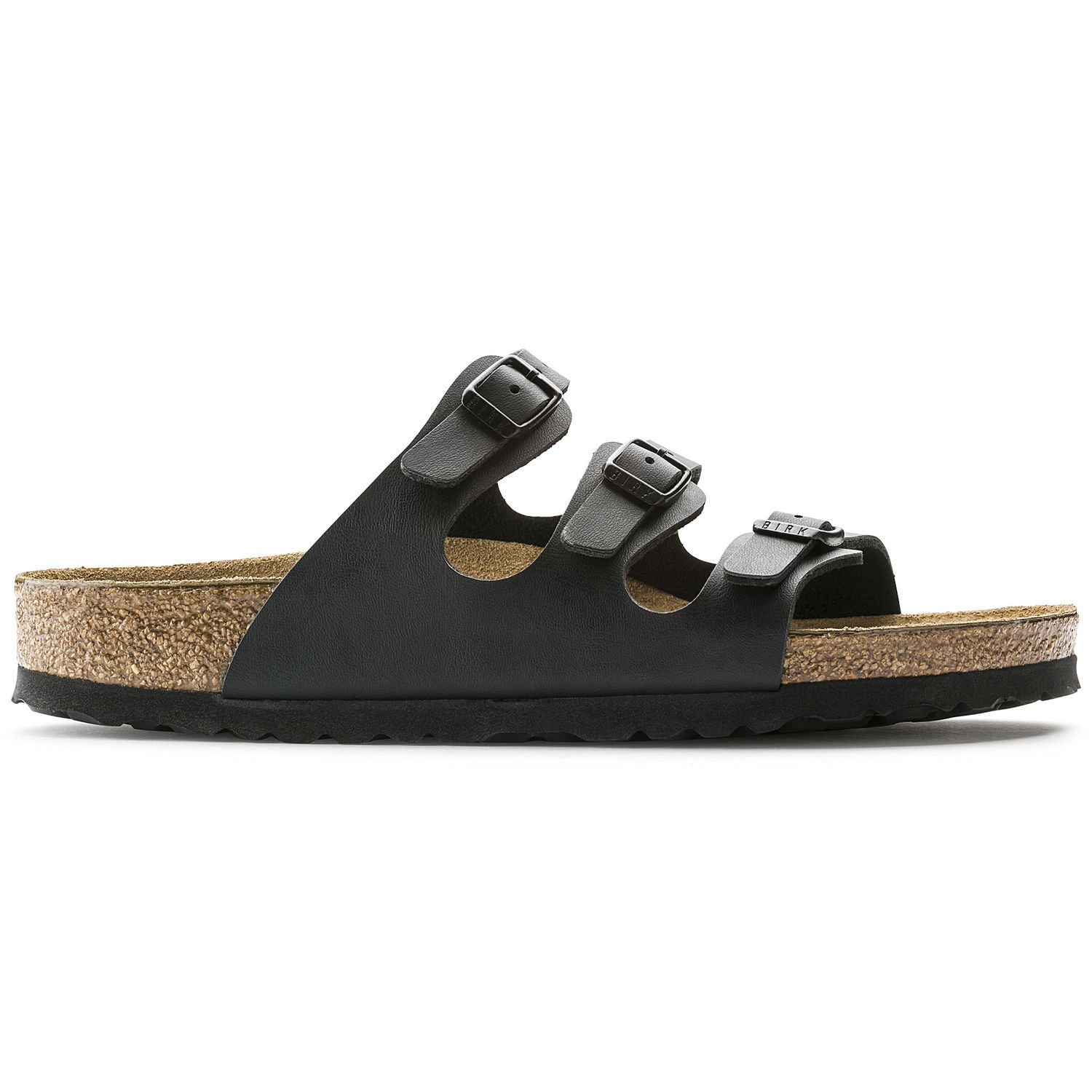 Image of   Sort Florida fra Birkenstock med smalle remme og narrow fit - 36