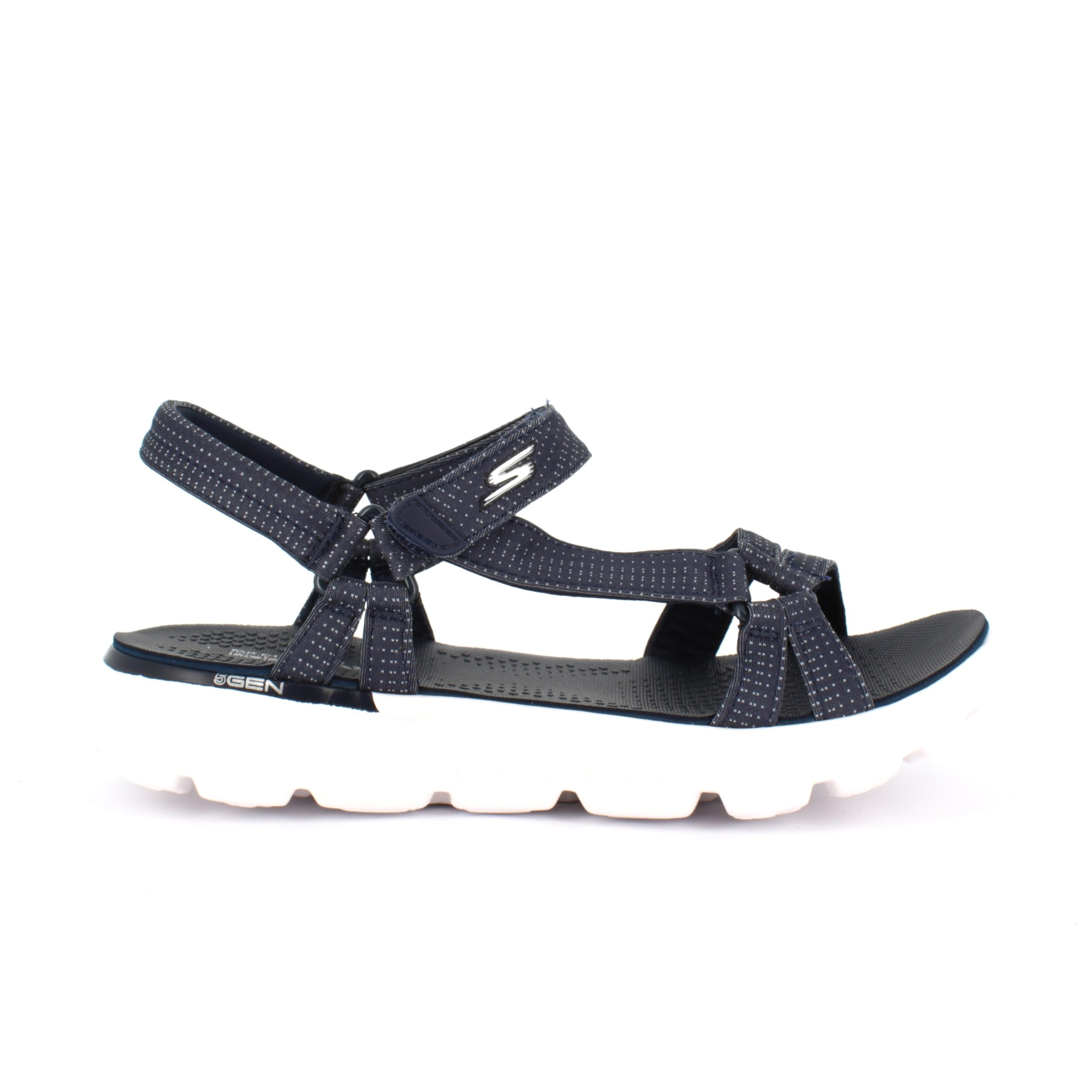 Image of   Skechers sandal med smalle remme - 35