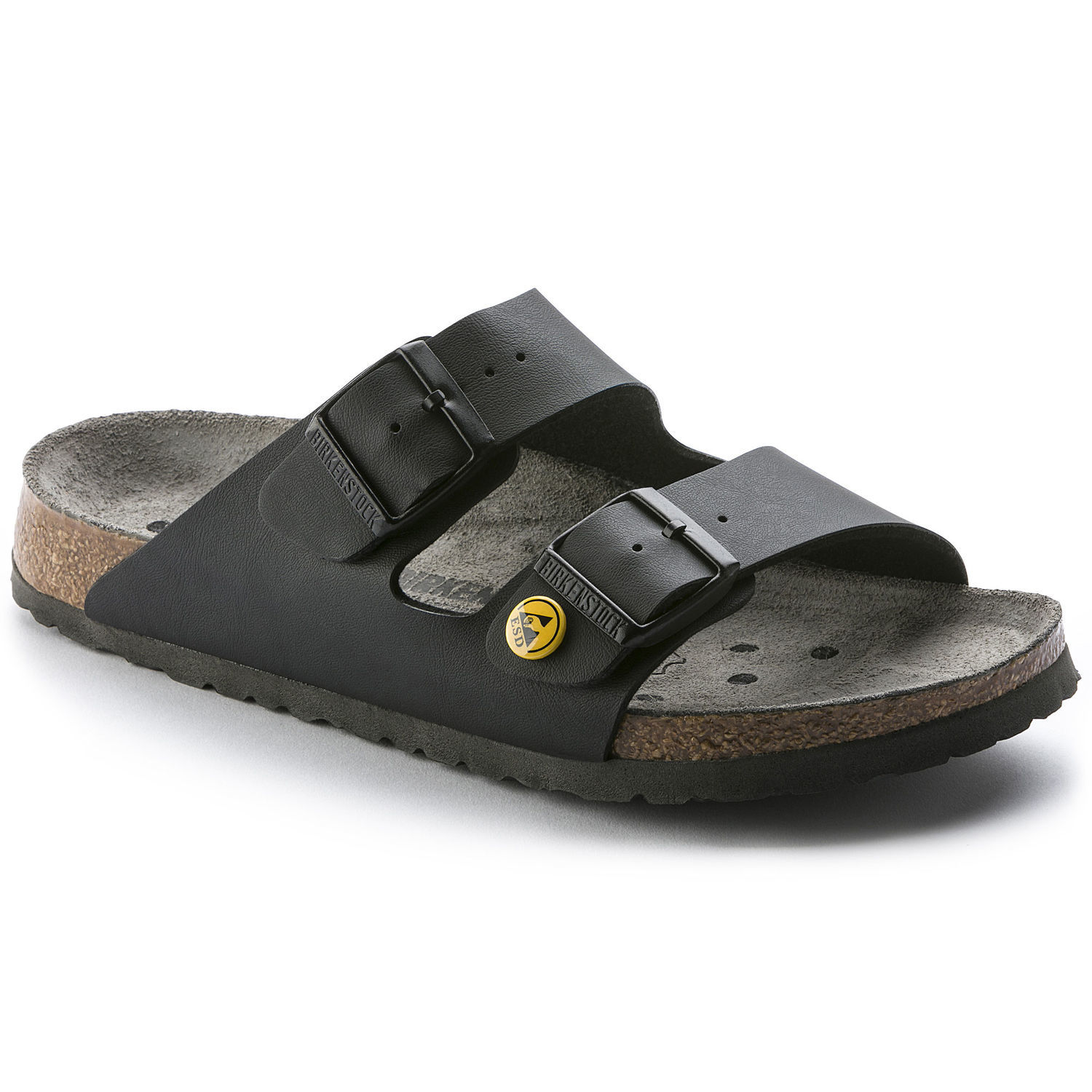 Image of   Sort Arizona ESD sandal fra Birkenstock - 42