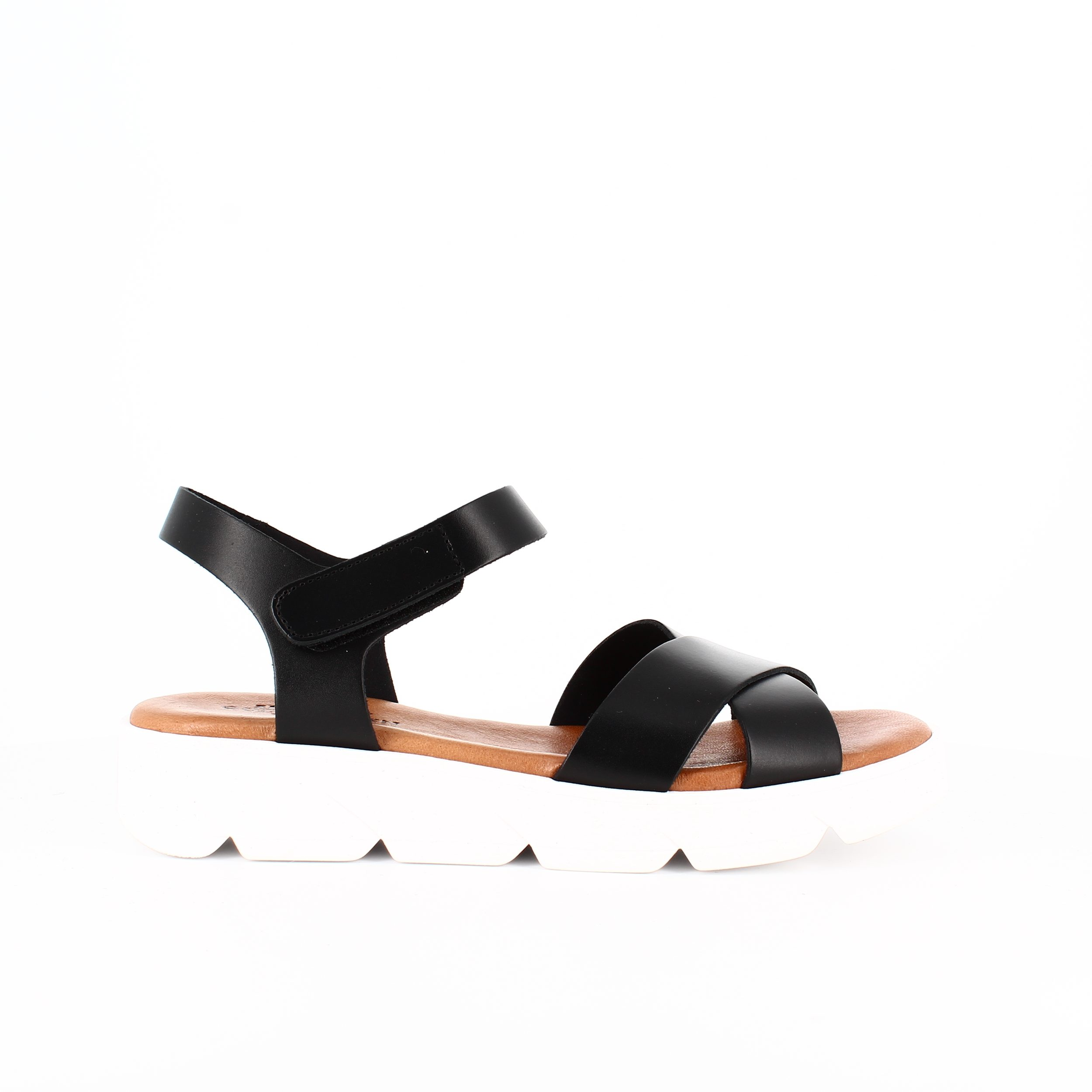 Image of   Shoe Biz Copenhagen Tatu sort sandal - 37