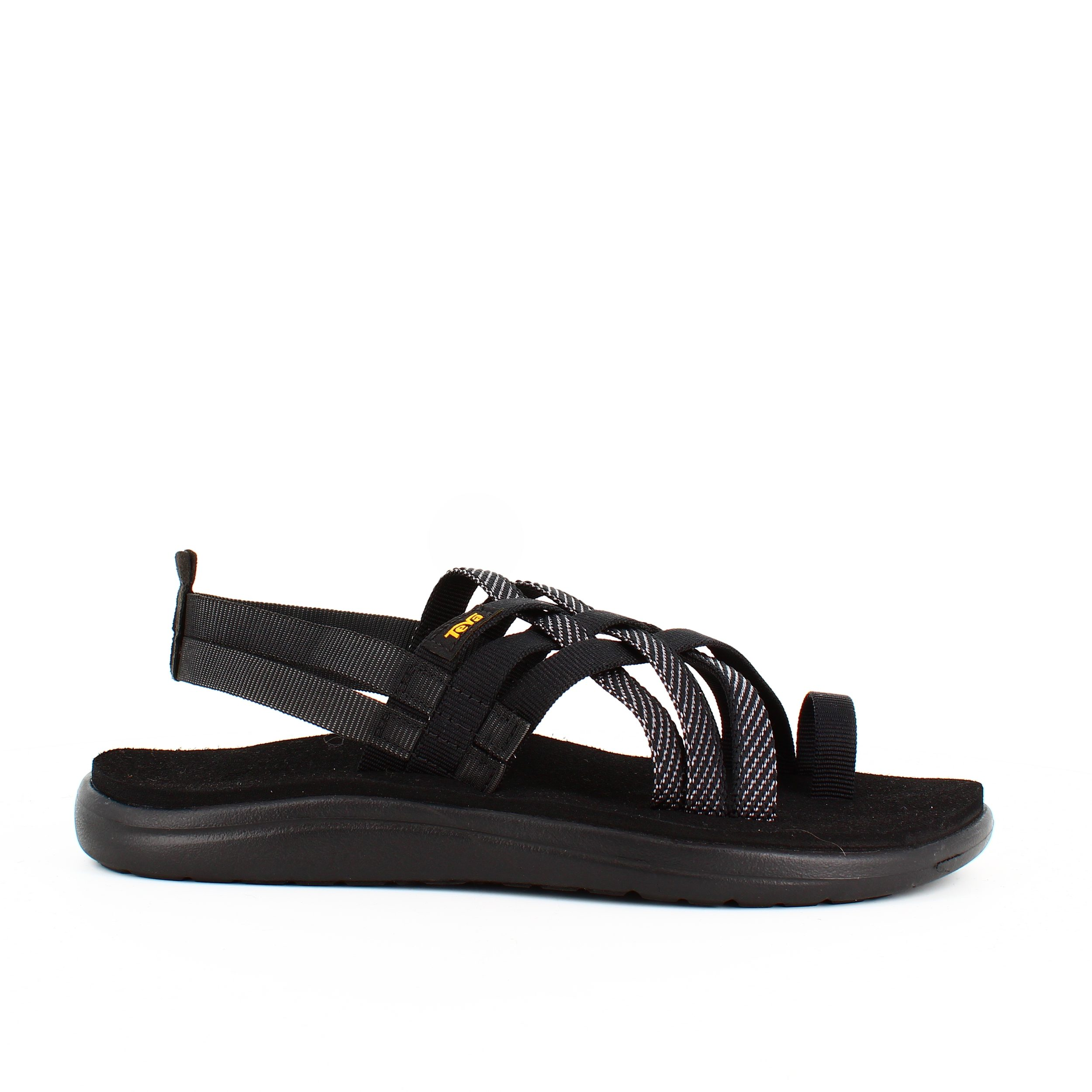 Image of   Sort Teva strappy slip in sandal - 38