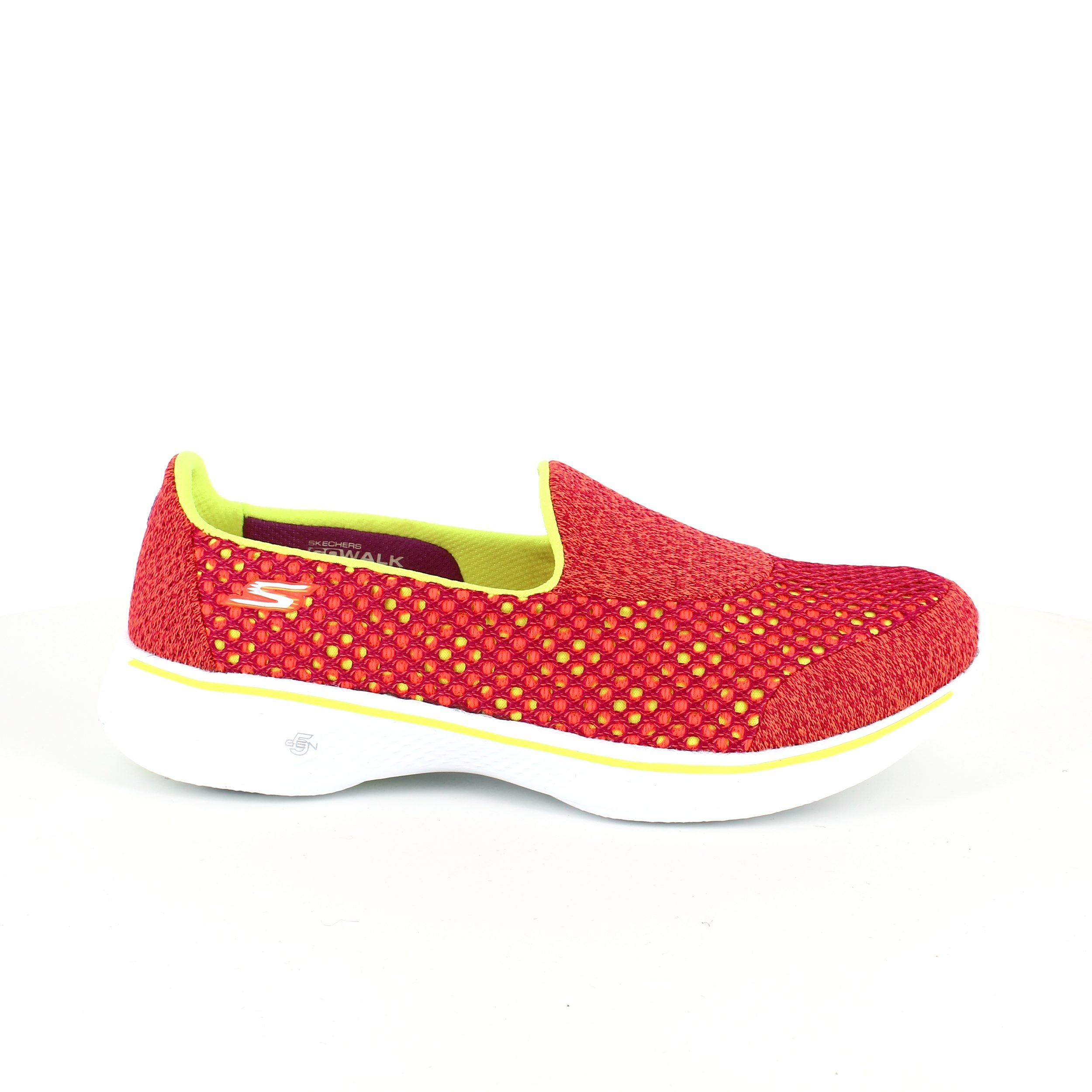 Image of   Orange ballerina fra Skechers, Go walk 4 - 36