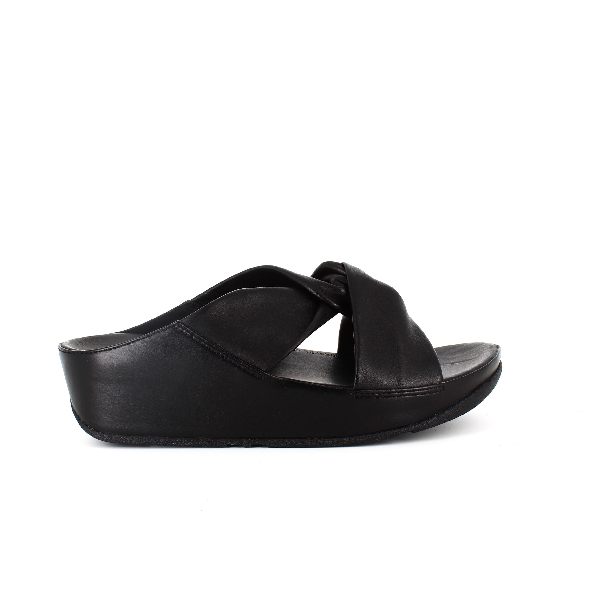 Image of   Fitflop læder sandal twiss slide - 38